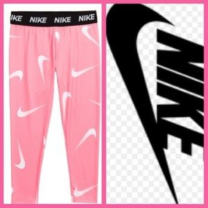 Nike Girls Dri-Fit Leggings Size 4 T